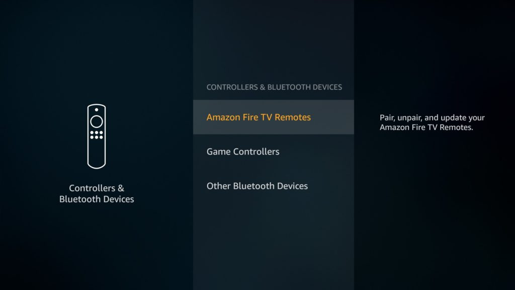 Amazon Fire TV Remotes