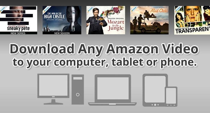 How to Download Movies from Amazon Prime