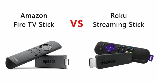Roku vs. Firestick