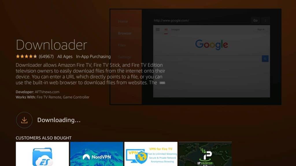 downader app downloading