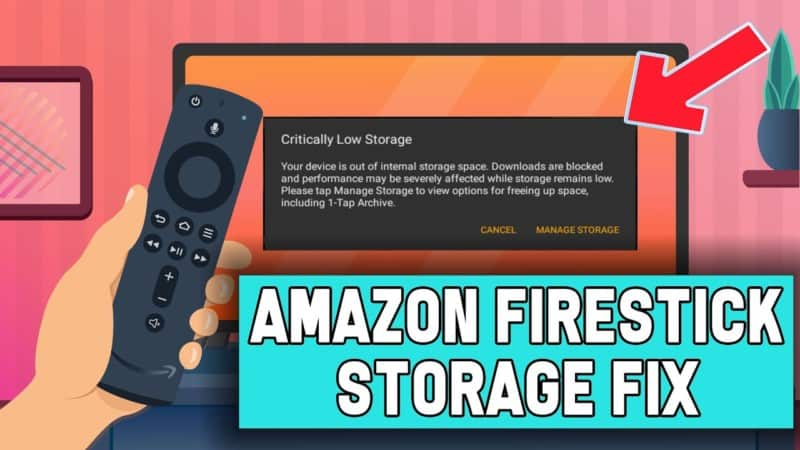 Firestick Low on Storage Fix