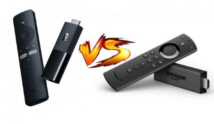 Xiaomi Mi TV Stick vs Amazon Fire TV Stick
