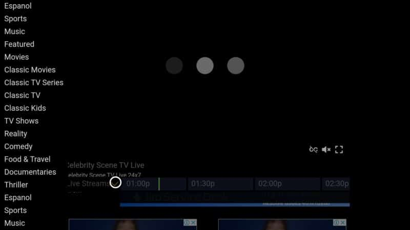 airy tv menu