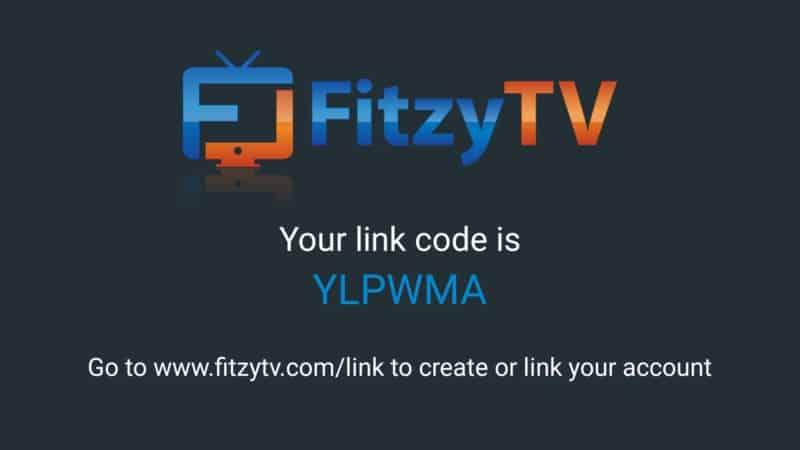 fitzytv code firestick