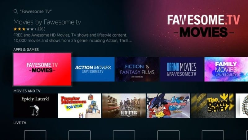 install Fawesome.tv