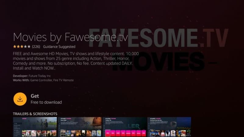 install fawsome tv on firestick
