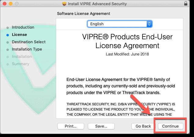 VIPRE License