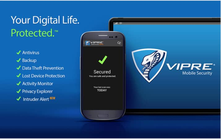 how to install VIPRE security on Android phone
