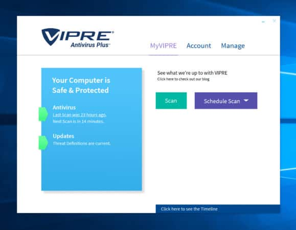 how to use and work with Vipre Security