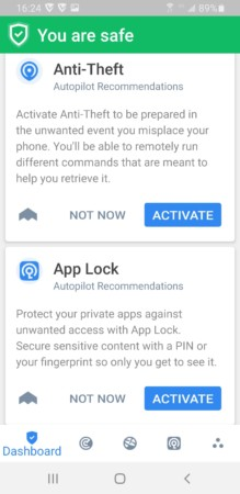 vipre android security active