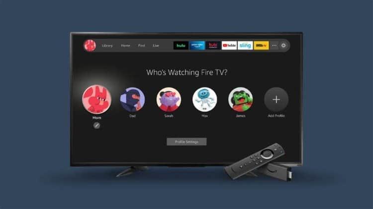 fire tv interface 2020
