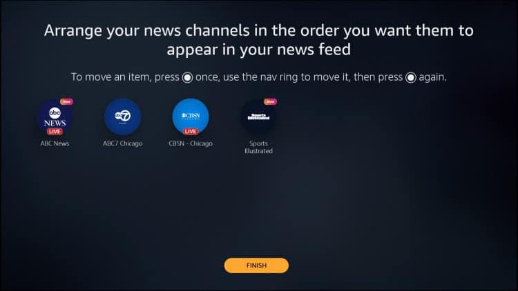 news channel amazon news app