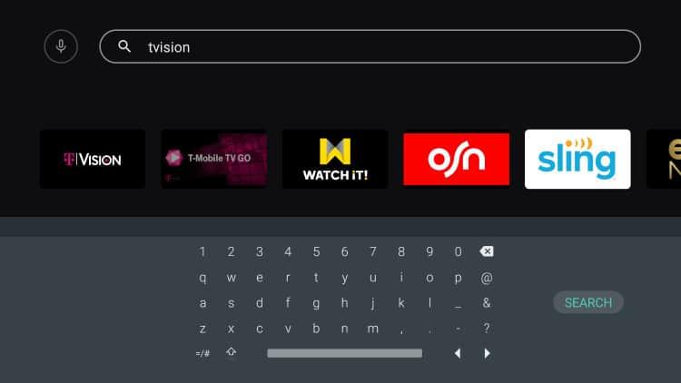 tvision adroid tv