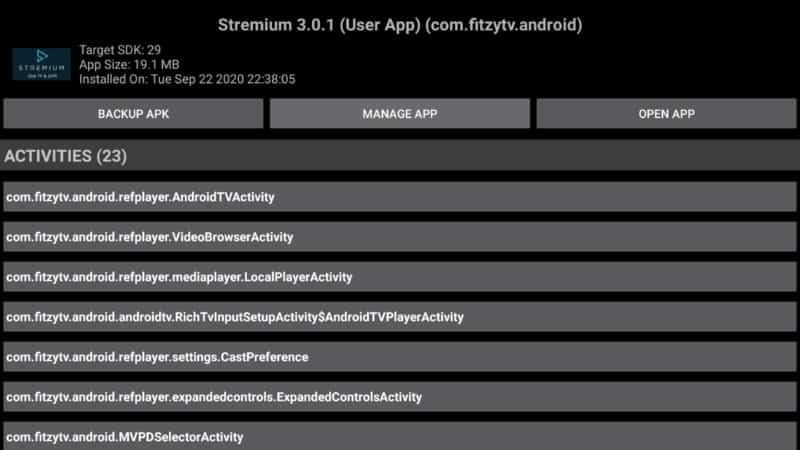 app info manager manage app