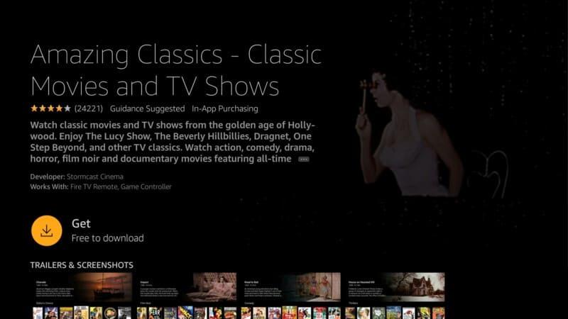 get amazing classics app