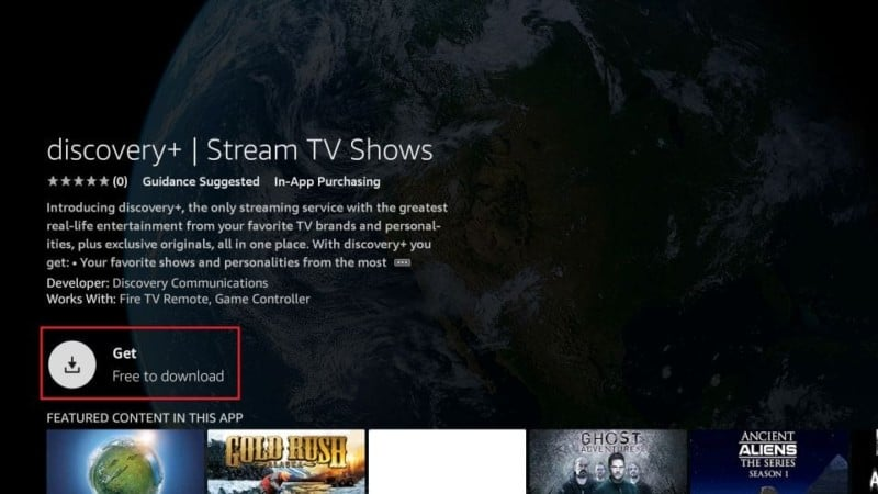 get discovery plus firestick