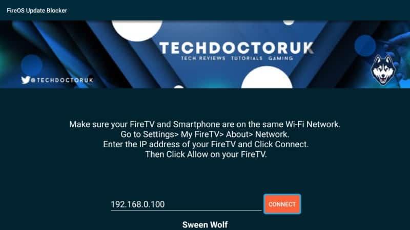fireOS Update Blocker ip