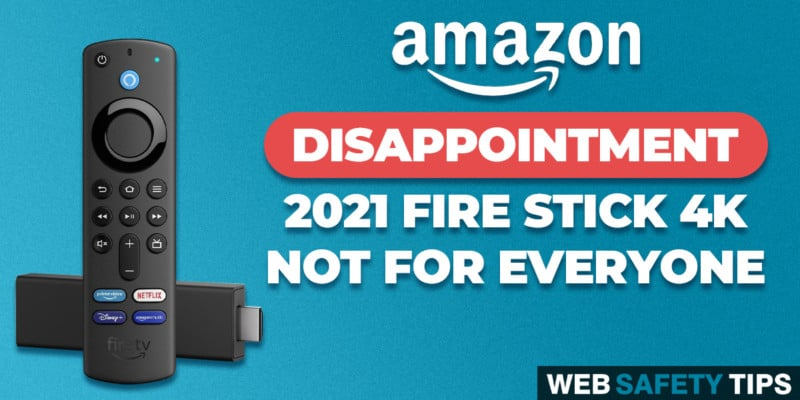 New Fire TV Stick 4K