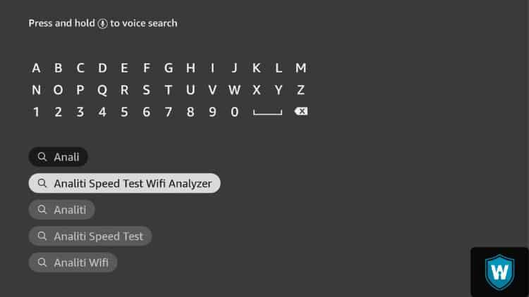 Analiti speed test wifi analyzer
