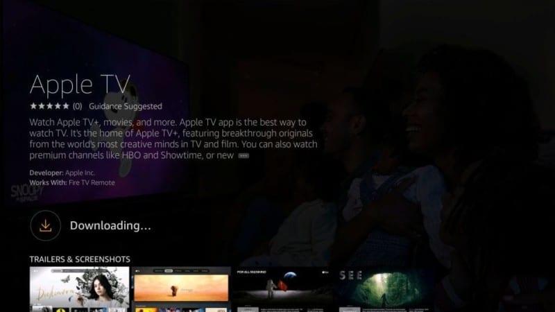 Apple TV+ firestick