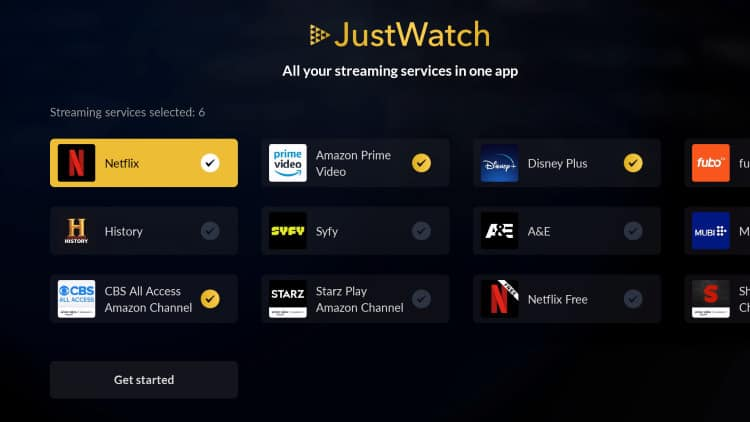 how to install justwatch